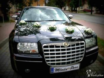 LIMUZYNA IDEALNA NA ŚLUB - CHRYSLER 300C - CZARNY, Samochód, auto do ślubu, limuzyna Terespol