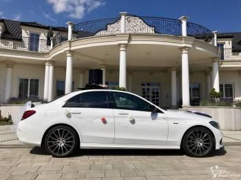 Mercedes C43 AMG do ślubu, Samochód, auto do ślubu, limuzyna Tyczyn