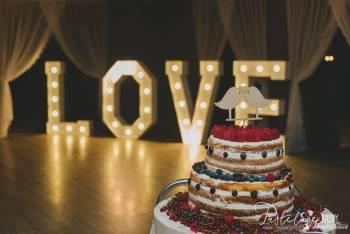 Napis Litery na Wesele LOVE MIŁOŚĆ MR&MRS; X&Y 4 rodzaje 3 rozmiary, Napis Love Wojnicz