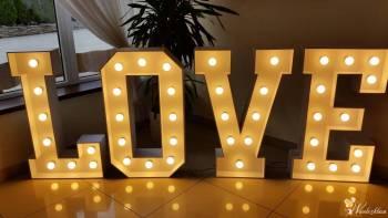 Napis LOVE 1 m i 1,40 m!!!  Największy w okolicy!, Napis Love Tuchów
