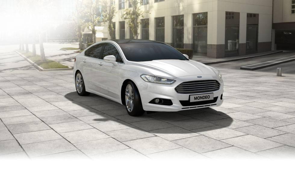Wynajem aut, samochód do ślubu nowy biały Ford Mondeo TITANIUM, Warszawa - zdjęcie 1