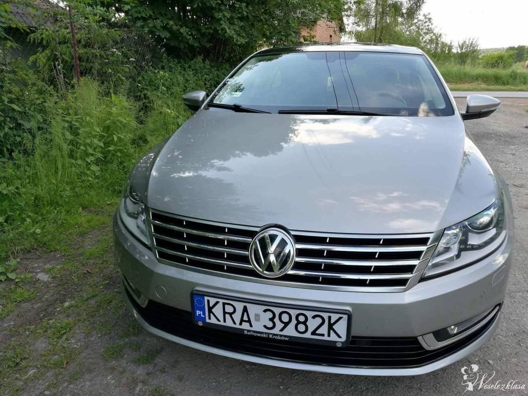 Samochód Volkswagen CC do ślubu piękny. Easywork, Kraków - zdjęcie 1