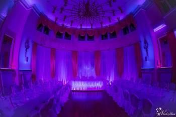 Dekoracje Światłem ślub wesele FILMPB ciężki dym na pierwszy taniec, Dekoracje światłem Rajgród
