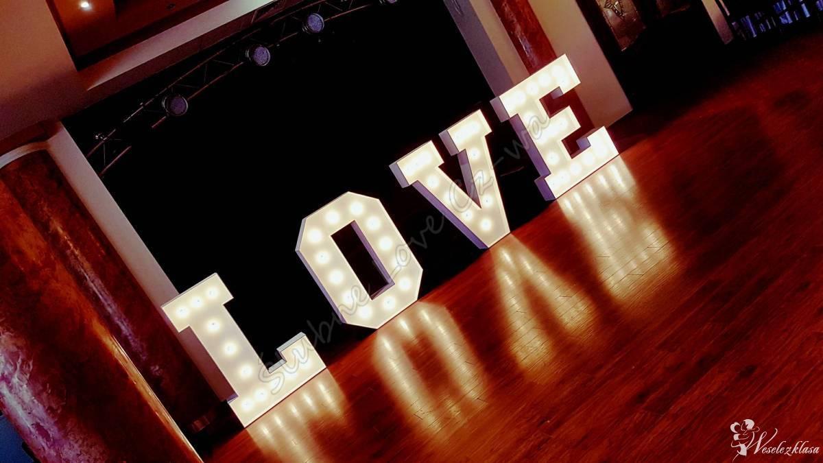 Świecący napis LOVE - Świecące Love - 125cm - Styl Retro! Hit Sezonu!!, Częstochowa - zdjęcie 1
