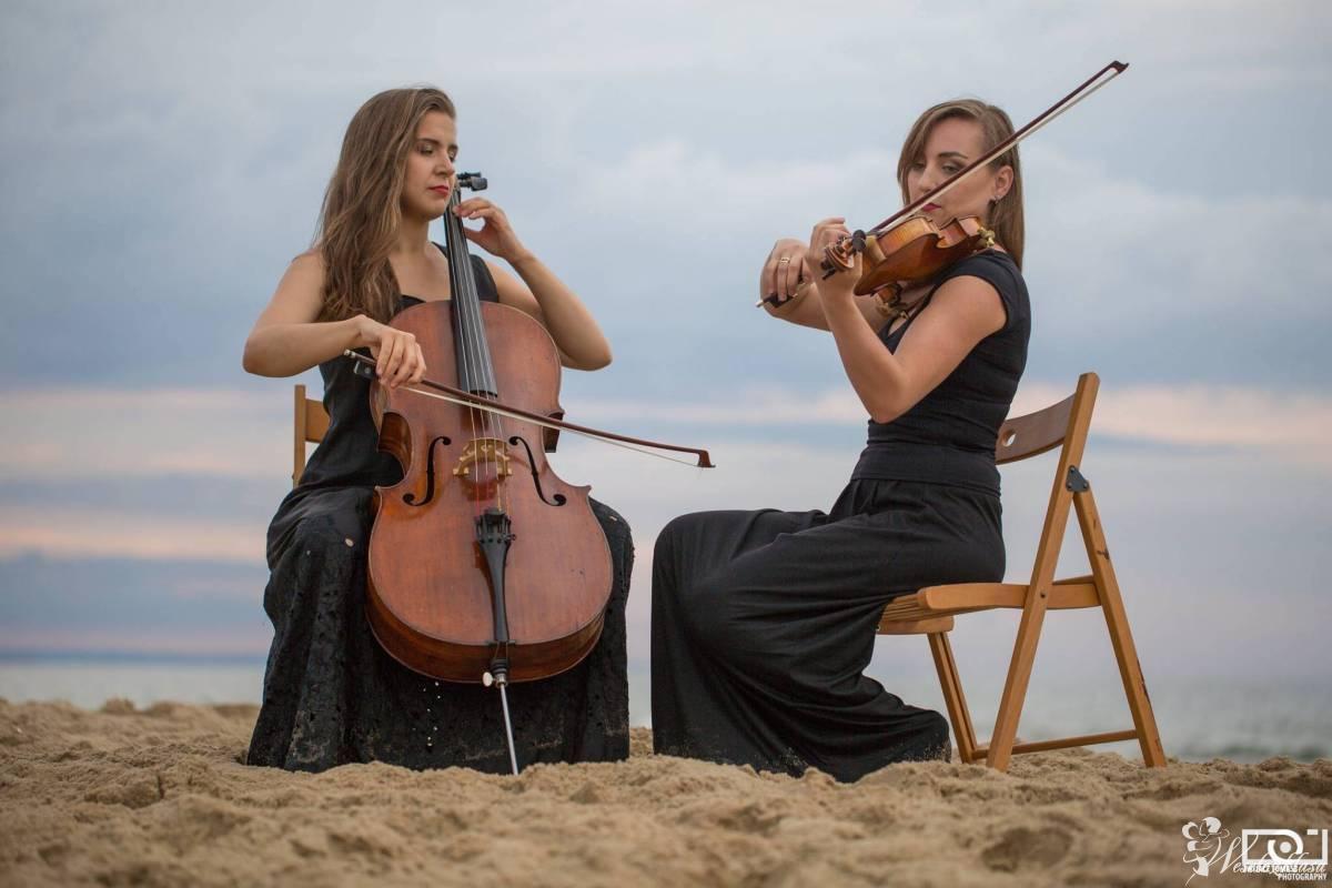Oprawa muzyczna. Duet skrzypce - wiolonczela, Gdańsk - zdjęcie 1