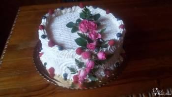 Tort, ciasta, wypieki, Tort weselny Chmielew