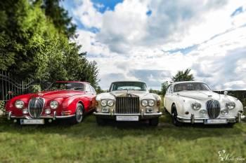 Rolls Royce Silver Shadow, Jaguar S-Type , Jaguar MKII - Klasyki, Samochód, auto do ślubu, limuzyna Wieruszów