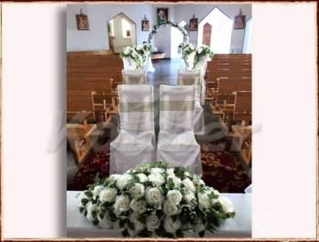dekoracje kościołów, Dekoracje ślubne Baranów Sandomierski