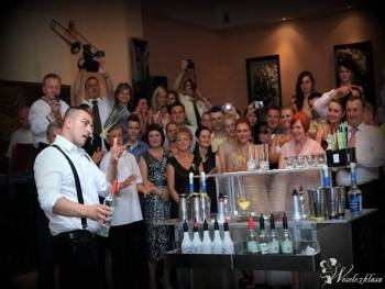 Bar Serwis Szczecin/Pokazy Barmański / Bar Weselny /Barman na weselu, Pokaz barmański na weselu Kołobrzeg