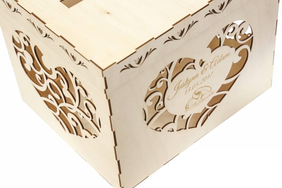 Gravit Studio - akcesoria ślubne, napis 3D na stół, pudełko na koperty, Łomża - zdjęcie 1
