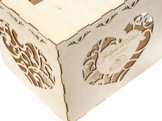 Gravit Studio - akcesoria ślubne, napis 3D na stół, pudełko na koperty,  Łomża