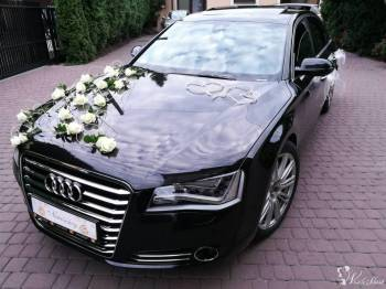 AUDI A8 4.2 V8 wersja przedłużana LONG, Samochód, auto do ślubu, limuzyna Szczuczyn