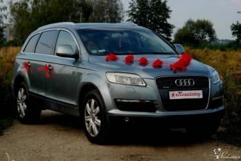 Eksluzywne Audi Q7 na ślub!, Samochód, auto do ślubu, limuzyna Wojcieszów