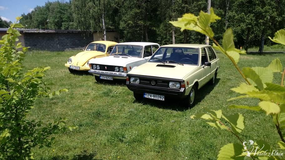 Samochody do ślubu PRL - Polonez, Garbus, Fiat 125p, Łazy - zdjęcie 1