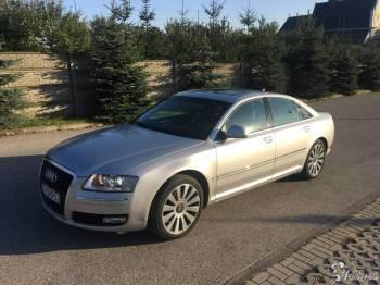 Audi A8, Samochód, auto do ślubu, limuzyna Skalbmierz