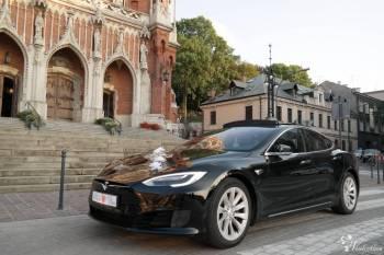 Luksusowy samochód do ślubu ! Tesla do ślubu !, Samochód, auto do ślubu, limuzyna Rybnik