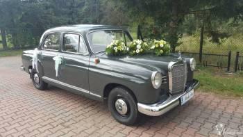 Zabytkowy samochód do ślubu RETRO auto MERCEDES Ponton, W115 lub W 123, Samochód, auto do ślubu, limuzyna Gryfów Śląski