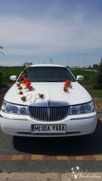 Auto do ślubu limuzyna Lincoln 9-metrowa, Samochód, auto do ślubu, limuzyna Szczuczyn