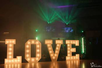 Podświetlane litery LOVE - 120 cm -WESELA-SESJE-DEKORACJE- HIT 2017, Napis Love Węgrów
