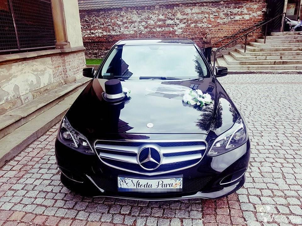 Luksusowy Mercedes E220 na ślub, wesele, Kraków - zdjęcie 1