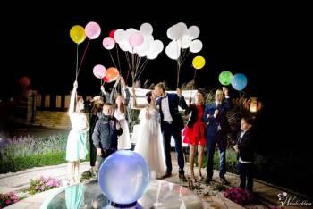 Balonowe dekoracje atrakcje balony z helem LED Kwiatowe LOVE napis, Balony, bańki mydlane Tuchów