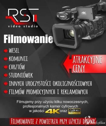 RST Video Studio - dwie profesjonalne kamery 4K, dron, JAKOŚĆ !!, Kamerzysta na wesele Ośno Lubuskie