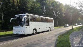 Transport Gości weselnych. Autokar z wystrojem Piotr Hullin, Wynajem busów Świętochłowice