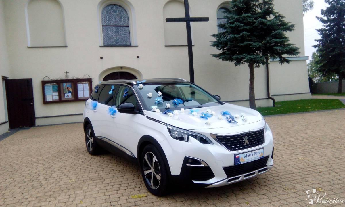 Samochód PEUGEOT 5008 *biała* perła idealny samochód do ślubu dla pary, Ruda Śląska - zdjęcie 1