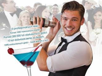 Drink Bar na Wesele - Profesjonalna Obsługa Barmańska , Barman na wesele Lębork