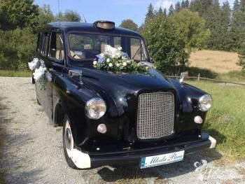 Pojedz Angielską legendą do ślubu ., Samochód, auto do ślubu, limuzyna Jaworzno