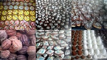 Weselne ciasteczka i ciasta - domowe wypieki, Tort weselny Mikołów