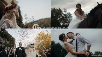 WEDDSTUDIO - Your Love Story. I 4k I Dron I 2 - 4 operatorów. Vid+Foto, Kamerzysta na wesele Stary Sącz