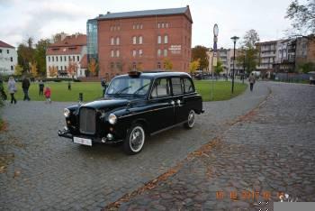 Londyńska Taxi- Black Cab, Samochód, auto do ślubu, limuzyna Ciechocinek