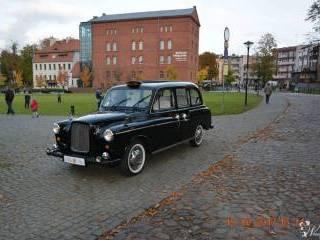 Londyńska Taxi- Black Cab,  Bydgoszcz
