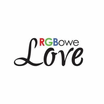 RGBowe Love - jedyny w swoim rodzaju napis Love, Napis Love Darłówek