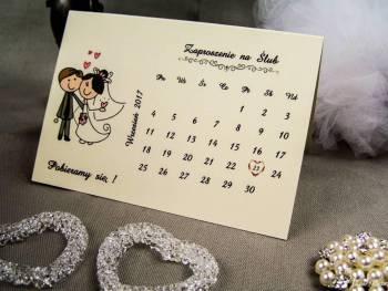 Zaproszenia ślubne, zaproszenie ślubne, zawiadomienia, winietki., Zaproszenia ślubne Końskie