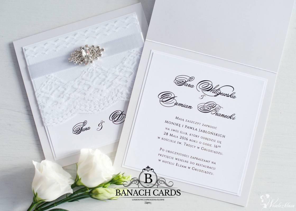 Pracownia Banach Cards -zaproszenia zdobione broszkami, Elbląg - zdjęcie 1