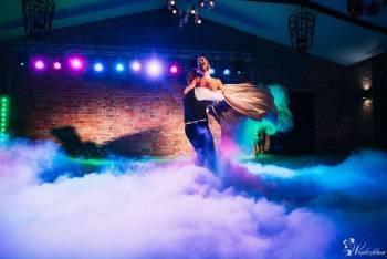 Ciężki dym Taniec w chmurach - Pierwszy taniec, tort. Napis Love MR MR, Ciężki dym Świeradów-Zdrój
