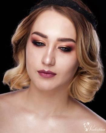 Makijaże okolicznościowe Magdalena Chwałek, Makijaż ślubny, uroda Lubań