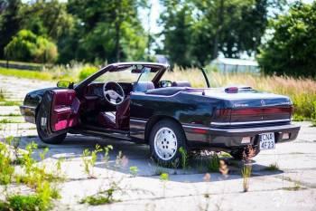 Chrysler Le Baron - CZARNY CABRIO 1984 Jedyny Taki, Samochód, auto do ślubu, limuzyna Kruszwica