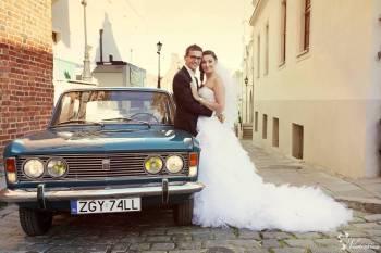 Wynajem Auta Fiat 125P, Samochód, auto do ślubu, limuzyna Wałcz