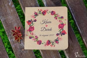 Perperuna - Pracownia Papieru, Zaproszenia ślubne Ogrodzieniec