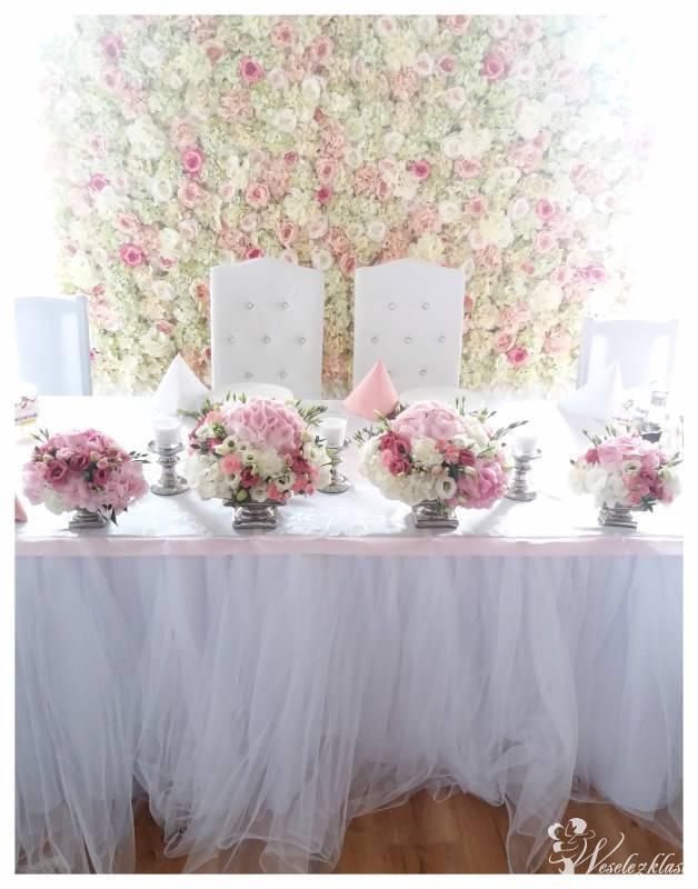 Dekoracje ślubne, weselne, dekoracja sali,kościoła. Miętowa Wstążka, Zielona Góra - zdjęcie 1