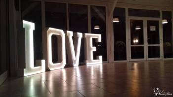 Ledowy napis LOVE, Napis Love Nowy Staw