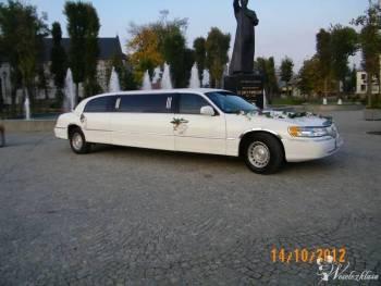 Limuzyna Lincoln do ślubu i na inne uroczystości., Samochód, auto do ślubu, limuzyna Suchowola