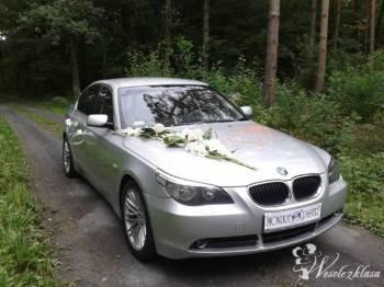 SAMOCHÓD DO ŚLUBU BMW 5, Samochód, auto do ślubu, limuzyna Przecław