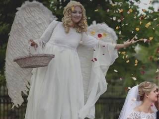 Anioły na szczudłach, weselne pokazy Led i Fire Show, Ślub w plenerze,  Łódź