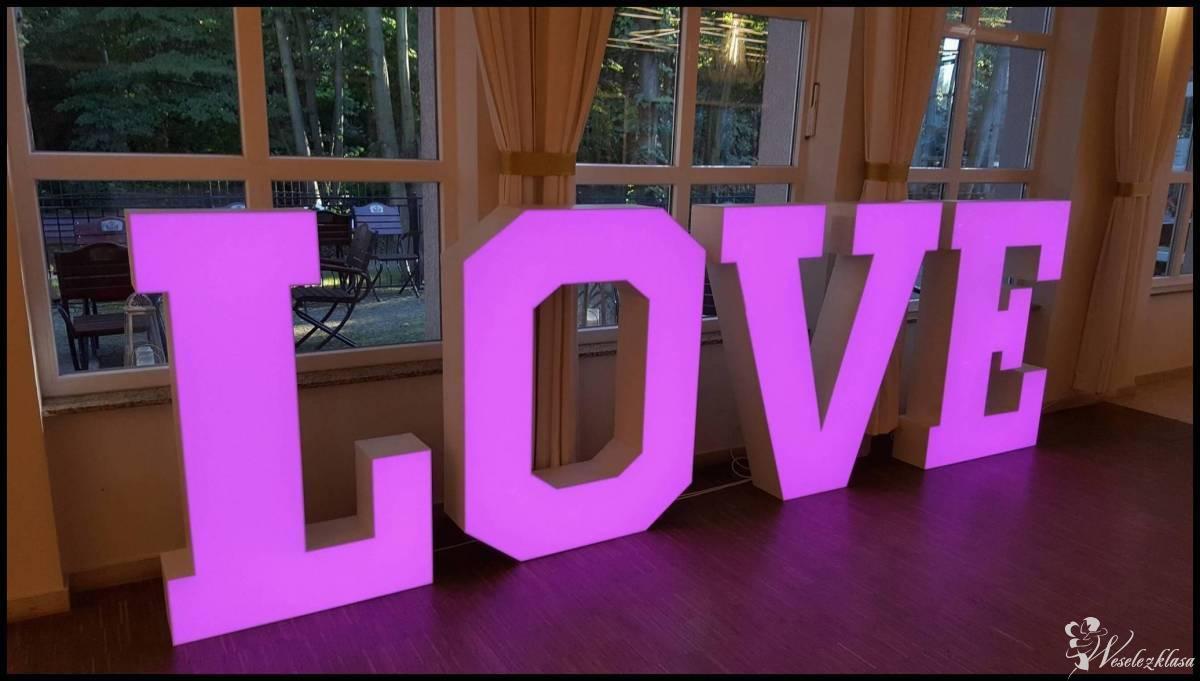 napis LOVE podświetlany WIELOKOLOROWY, aż 1,30m wys. 3D, Częstochowa - zdjęcie 1