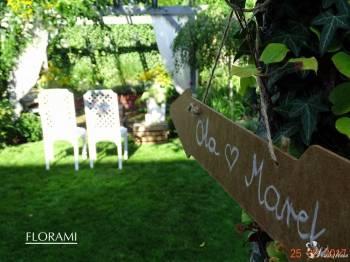Pracownia florystyczna FLORAMI - kwiaty i dekoracje, Dekoracje ślubne Tychowo