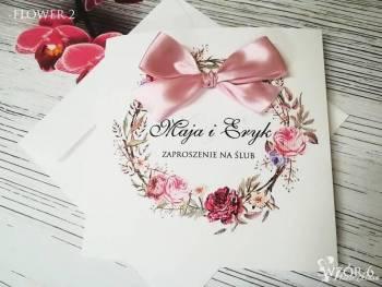 Świat Zaproszeń - Zaproszenia i dodatki weselne, Dekoracje ślubne Pasym